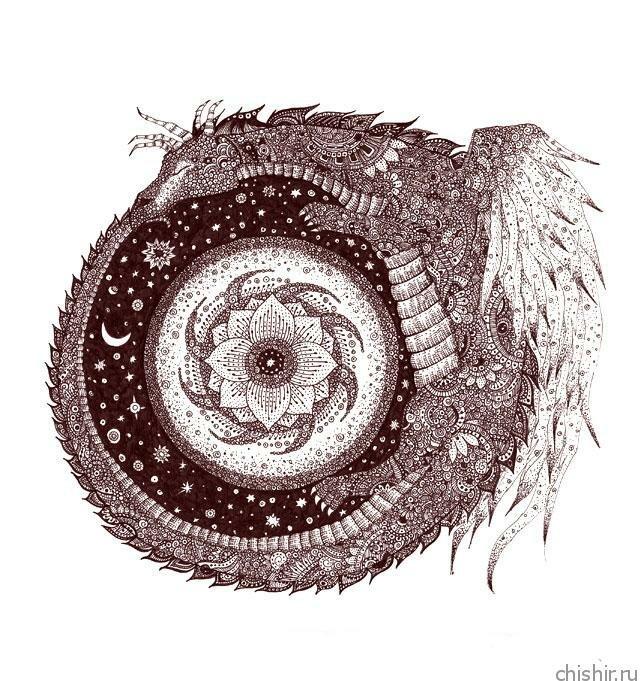 Ouroboros - змея пожирающая свой хвост